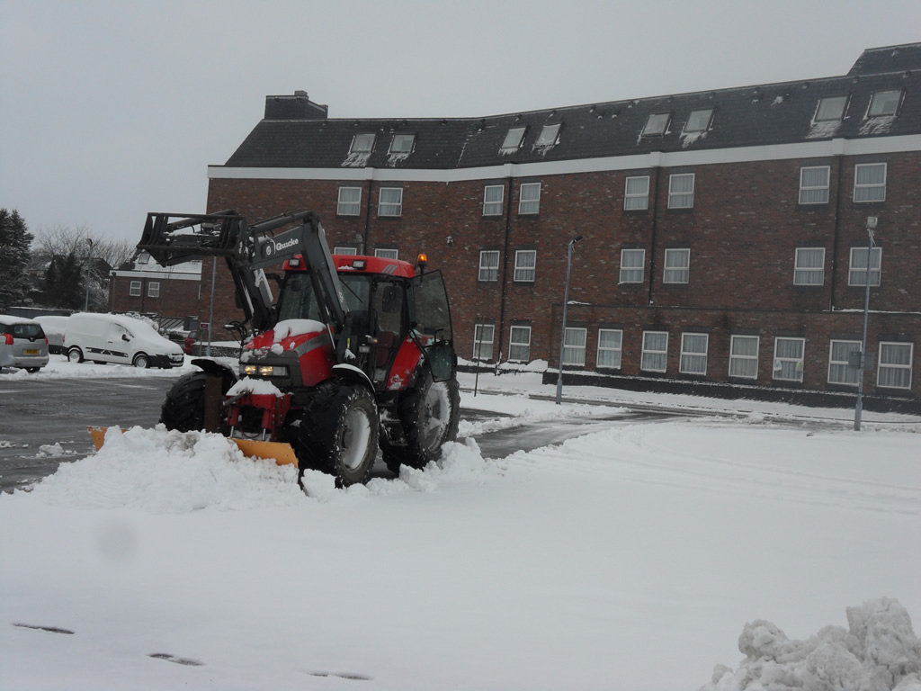 Rock Salt, Snow Clearance & Winter Maintenance