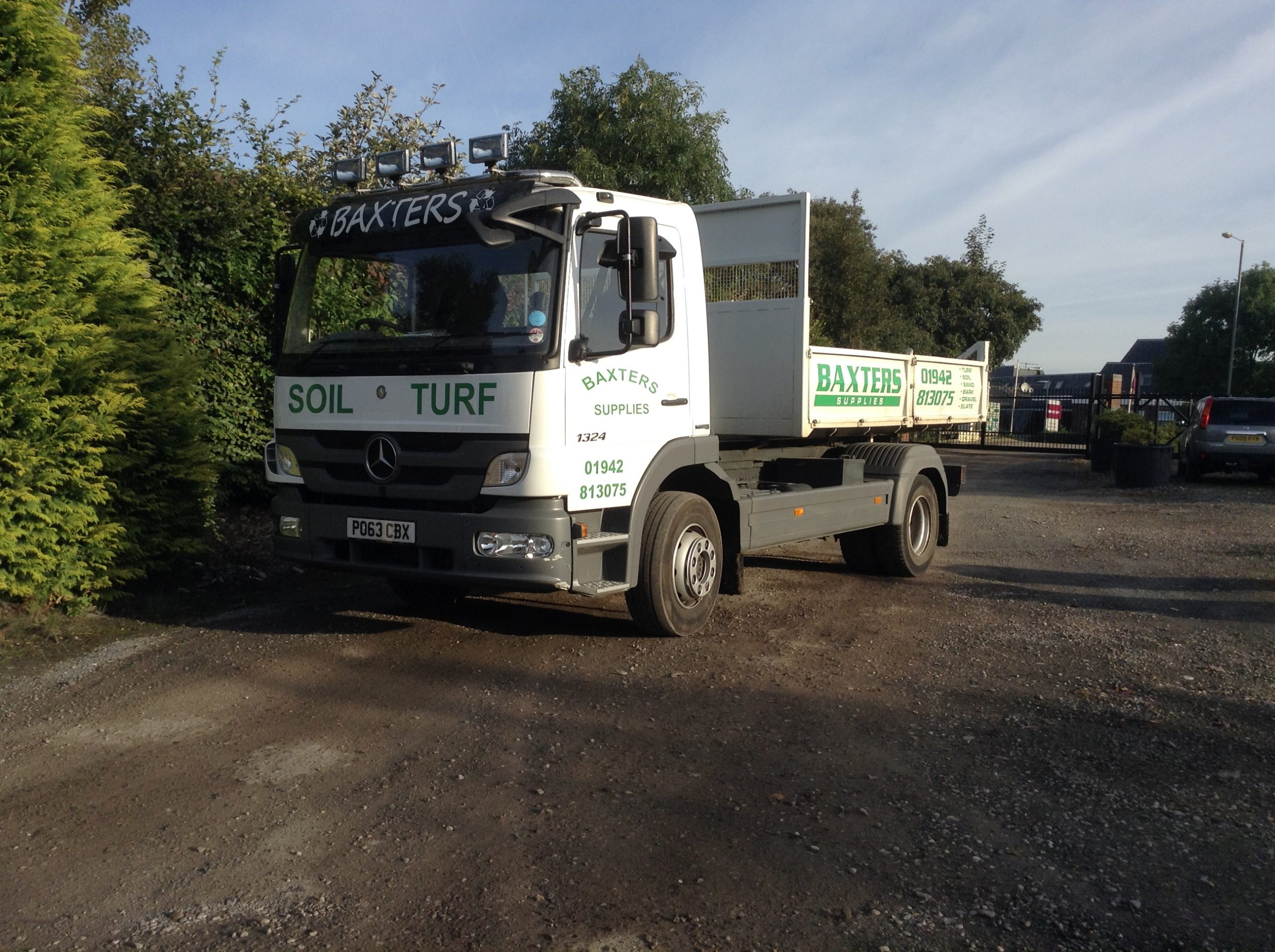 Baxter Landscapes - Delivery Wagon